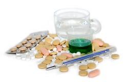 Medicinas Fotografía de archivo libre de regalías