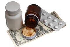 Medicinas de la compra Imágenes de archivo libres de regalías