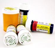Medicinas de la prescripción Fotografía de archivo libre de regalías
