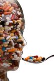 Medicinas e tabuletas para curar a doença Fotos de Stock