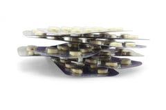 Medicinas em blocos de bolha Imagens de Stock Royalty Free