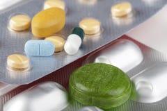 Medicinas para a saúde Imagens de Stock