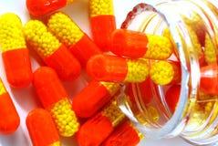 Medicinas y drogas Fotografía de archivo
