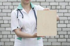 Medicinbegreppsdoktor Samling av information royaltyfri fotografi