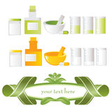 Medicine alternative royalty illustrazione gratis