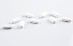 Medicine antibiotic pills Stock Photography