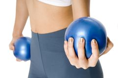 Medicine-ball Image stock