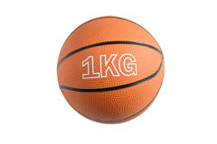 Medicine ball for fitness Royalty Free Stock Image
