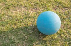 Medicine ball. For recovery injuried player Royalty Free Stock Photo