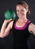 Medicine Ball Time Royalty Free Stock Photos