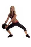 Medicine Ball Workout Stock Photos