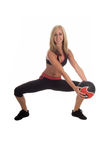 Medicine Ball Workout Royalty Free Stock Photography