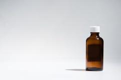 Medicine bottle background Royalty Free Stock Photo
