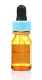 Medicine bottle with dropper royalty free stock photos