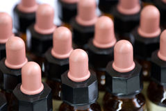 Medicine bottles Stock Image