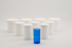 Medicine Bottles Royalty Free Stock Photography