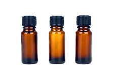 Medicine bottles isolated Stock Photography