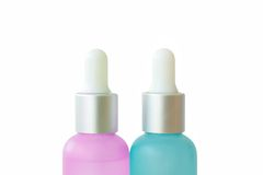 Medicine bottles. Packaging of medicines for dripping the drug Royalty Free Stock Photo