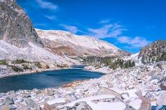 Medicine Bow, Wyoming. Medicine Bow Peak in Wyoming royalty free stock photos