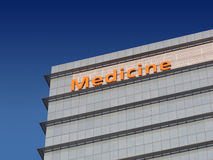 Medicine building Royalty Free Stock Photos