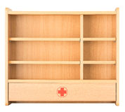 Medicine cabinet for keep drug Stock Photo