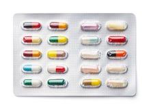 Medicine Capsules Royalty Free Stock Photo