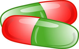 Medicine Capsules icon Royalty Free Stock Images