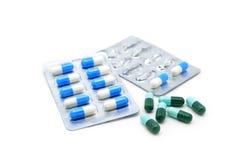 Medicine capsules Royalty Free Stock Photos