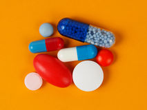 Medicine, Capsules and Pills Stock Photo