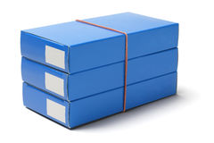 Medicine Cardboard Boxes Royalty Free Stock Photography