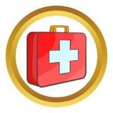 Medicine chest vector icon Stock Image