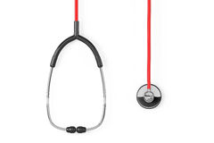 Medicine Concept. Closeup stethoscope Royalty Free Stock Photography