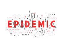 Medicine concept Epidemic Stock Images