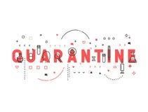 Medicine concept quarantine. Stock Photo