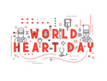 Medicine concept World heart day. Royalty Free Stock Photo