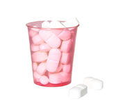 Medicine cup Royalty Free Stock Photography