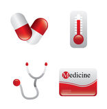 Medicine design Royalty Free Stock Images
