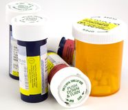 Medicine di prescrizione Immagine Stock