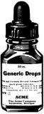 Medicine Drops Royalty Free Stock Image