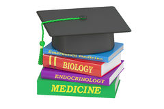 Medicine Education concept, 3D rendering Royalty Free Stock Images