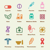 Medicine elements Stock Photography