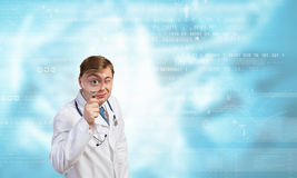 Medicine exploration Stock Photo