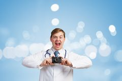 Medicine exploration Royalty Free Stock Photography