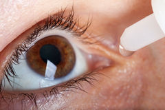 Medicine eyedropper Stock Images