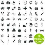 Medicine health care basics series. 60 Medicine health care basics series Royalty Free Stock Photo