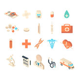 Medicine and healthcare icons collection set. Stock Photos