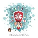Medicine healthcare services concept Stock Photos