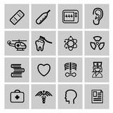Medicine & Heath Care icons. This is file of EPS10 format Royalty Free Stock Images