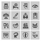 Medicine & Heath Care icons. This is file of EPS10 format Royalty Free Stock Photo