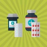 Medicine icon design , vector illustration Royalty Free Stock Photography